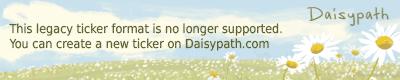 Daisypath Anniversary Years Ticker